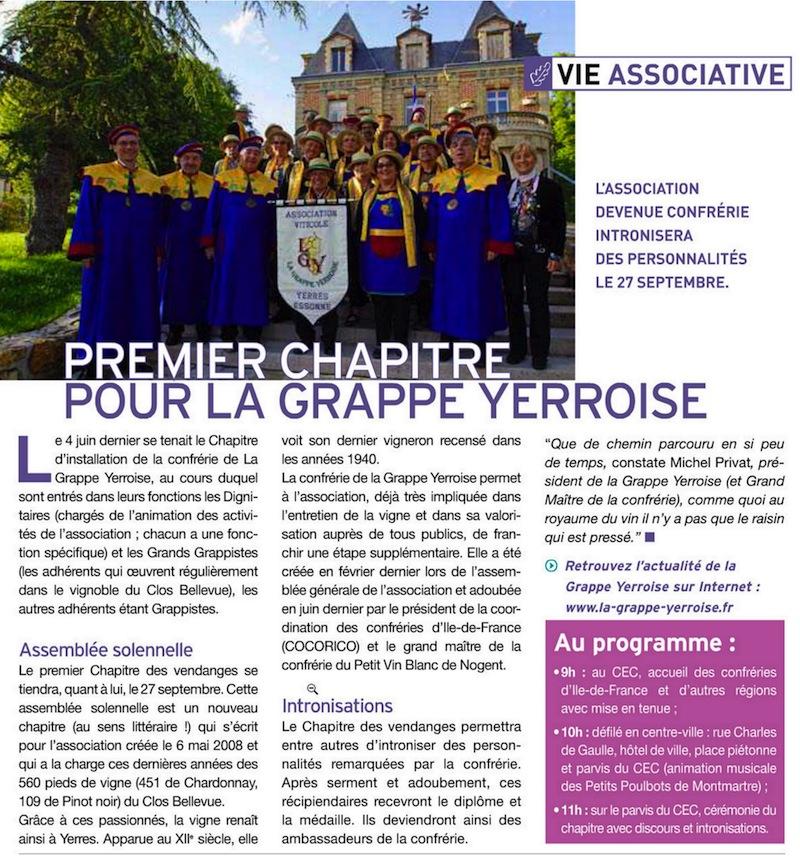 1er Chapitre LGY journal ds yerrois