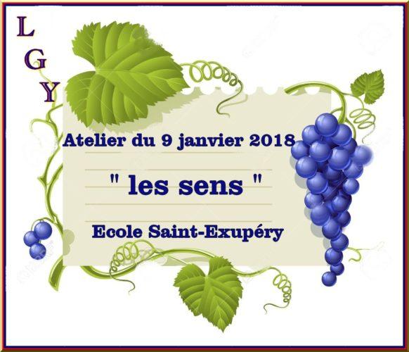 Atelier du mardi 9 janvier 2018 St Exupéry
