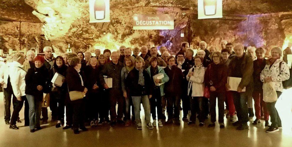 Voyage en Bourgogne caves Bailly Lapierre et Guédelon dimanche 30 septembre 2018.